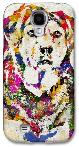 Black Lab Watercolor Art Galaxy S4 Case