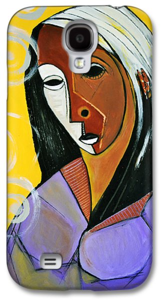 Black Madonna Galaxy S4 Case by Robert Daniels