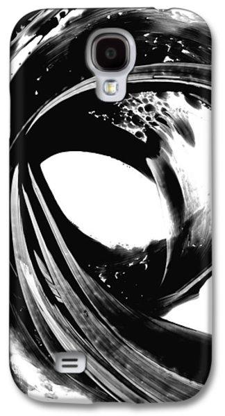 Black And White Art Galaxy S4 Cases - Black Magic 308 by Sharon Cummings Galaxy S4 Case by Sharon Cummings