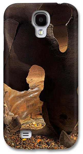 Black Magic Canyon Shape Galaxy S4 Case by Leland D Howard