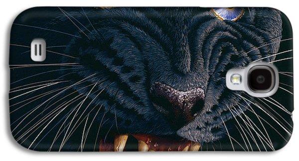 Black Panther 2 Galaxy S4 Case by Jurek Zamoyski