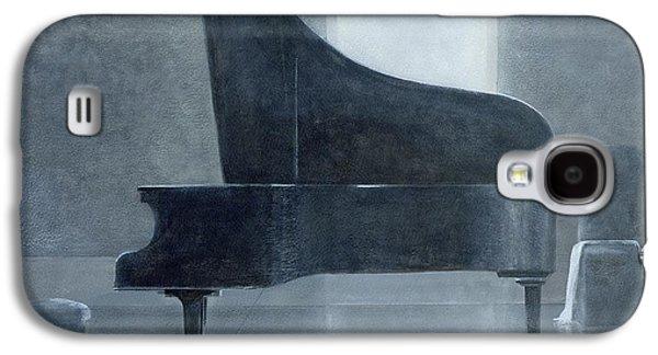 Black Piano 2004 Galaxy S4 Case