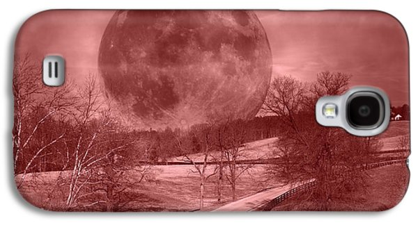 Blood Moon One Of Two Galaxy S4 Case