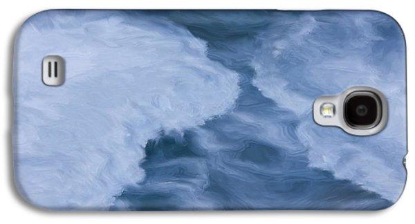 Blue 3                              Galaxy S4 Case by Jack Zulli