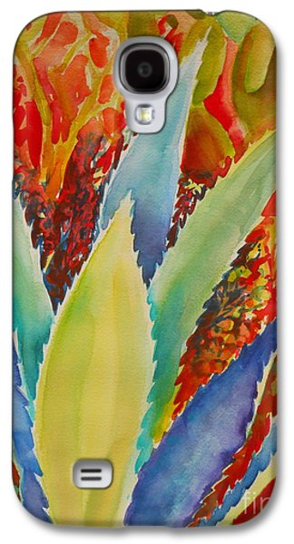 Blue Agave Galaxy S4 Case by Summer Celeste