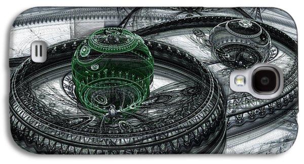 Dark Alien Landscape Galaxy S4 Case by Martin Capek