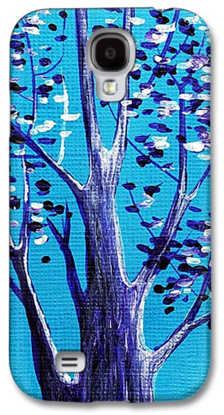 Blue And White Galaxy S4 Case by Anastasiya Malakhova
