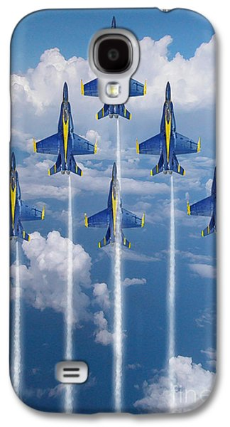 Blue Angels Galaxy S4 Case by J Biggadike