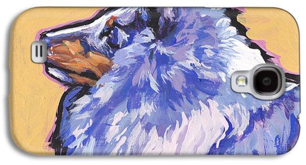 Blue Beauty Galaxy S4 Case