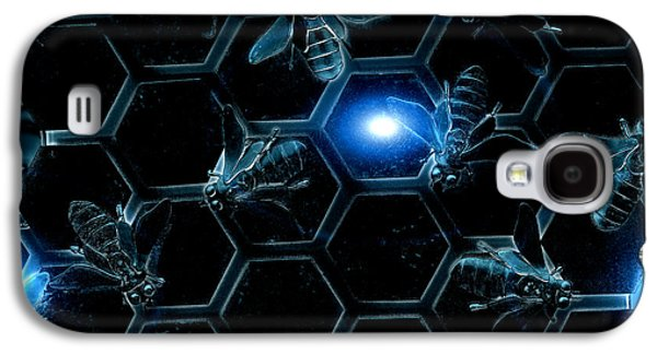 Blue Bees Galaxy S4 Case