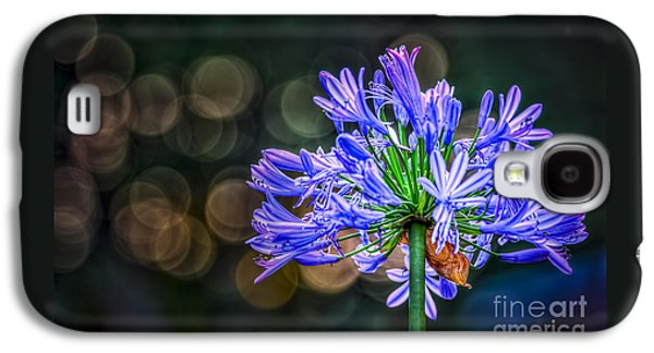 Blue Blooms Galaxy S4 Case by Marvin Spates