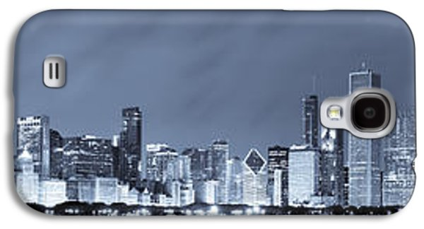 Blue Chicago Skyline Galaxy S4 Case