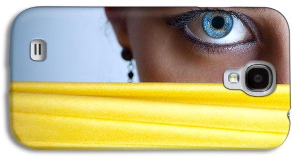 Blue Eye Galaxy S4 Case