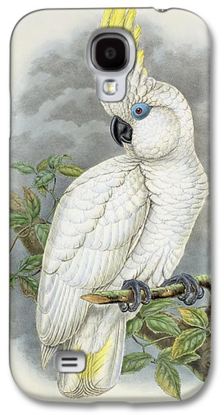 Blue-eyed Cockatoo Galaxy S4 Case by William Hart