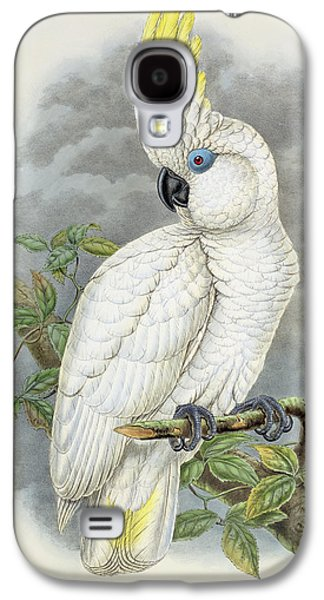 Blue-eyed Cockatoo Galaxy S4 Case