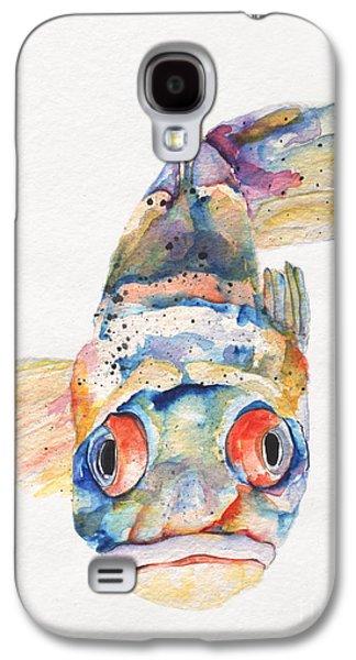 Blue Fish   Galaxy S4 Case