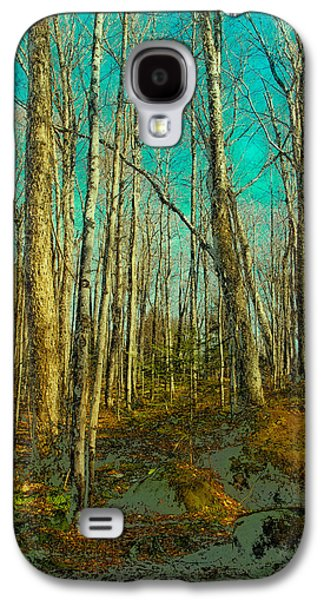 Blue Forest Galaxy S4 Case by David Patterson