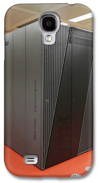 Blue Gene Supercomputer Galaxy S4 Case by Ibm Research