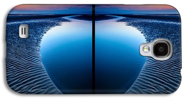 Blue Hour Diptych Galaxy S4 Case by Adrian Evans