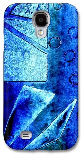 Blue   II Galaxy S4 Case by John  Nolan