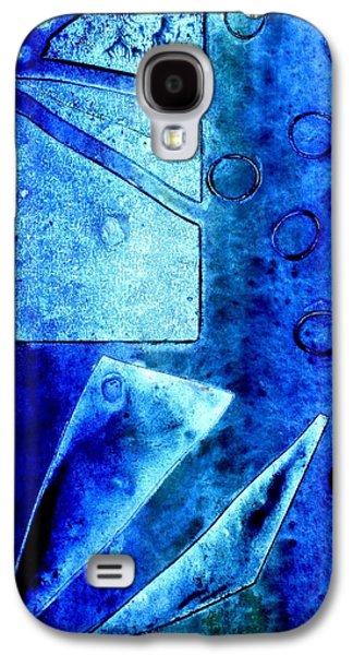 Blue   II Galaxy S4 Case