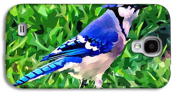 Blue Jay Galaxy S4 Case by Stephen Younts