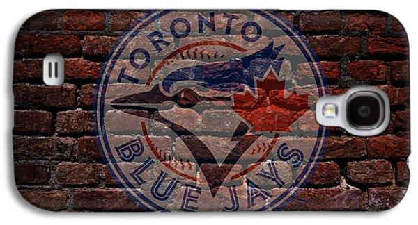 Blue Jays Baseball Graffiti On Brick  Galaxy S4 Case