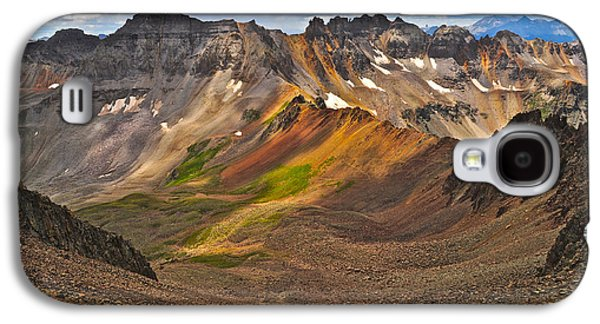 Blue Lakes Pass Galaxy S4 Case by Aaron Spong