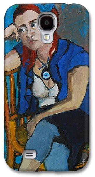 Blue Mood Galaxy S4 Case by Mona Edulesco