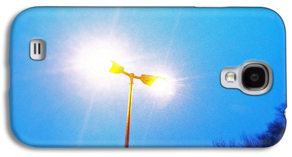 Cool Galaxy S4 Case - Blue Morning - Bright Beam Of Light by Matthias Hauser