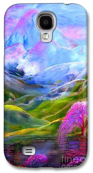 Blue Mountain Pool Galaxy S4 Case by Jane Small
