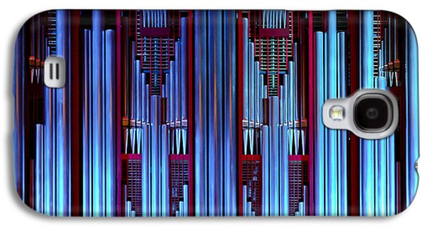 Blue Organ Pipes Galaxy S4 Case by Jenny Setchell