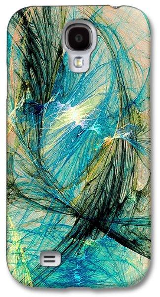 Blue Phoenix Galaxy S4 Case