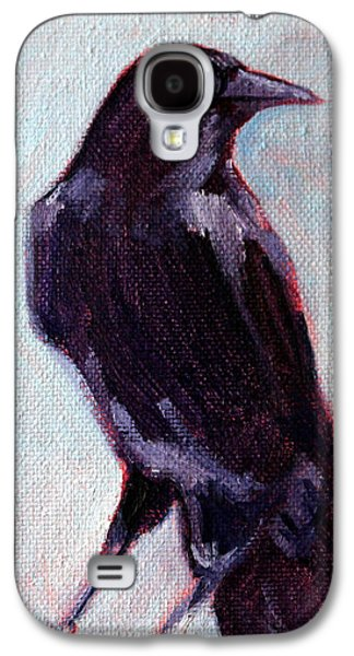 Blue Raven Galaxy S4 Case by Nancy Merkle