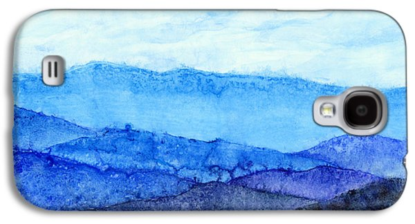 Blue Ridge Mountains Galaxy S4 Case by Hailey E Herrera