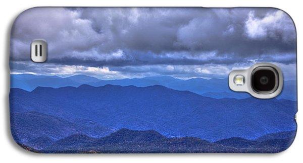Under The Cloud Cover Blue Ridge Mountains North Carolina Galaxy S4 Case