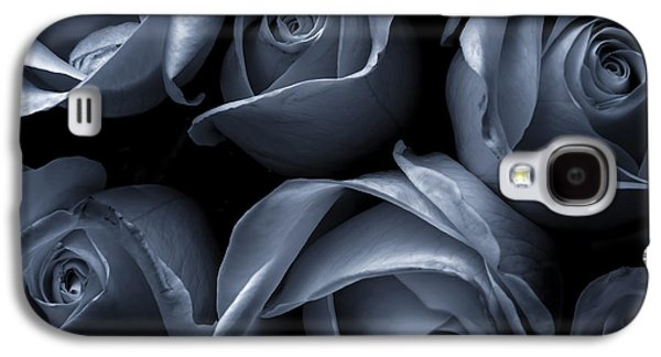 Blue Roses Galaxy S4 Case by Diane Diederich
