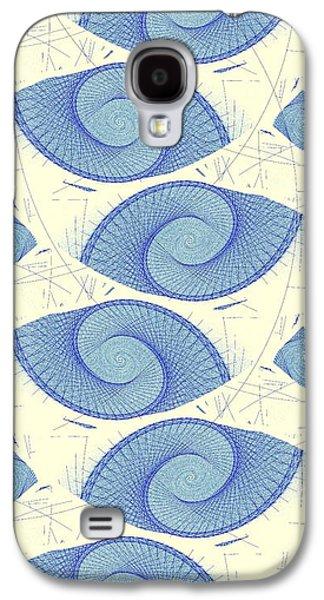 Blue Shells Galaxy S4 Case