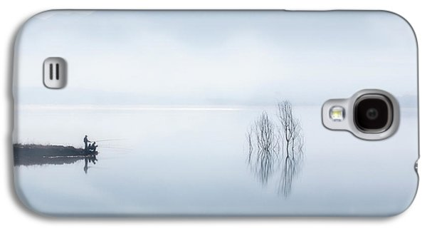 Blue Silence Galaxy S4 Case