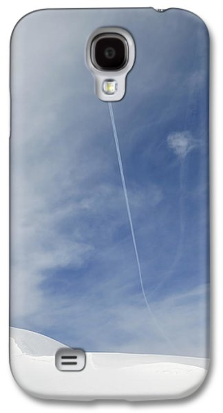 Blue Sky And Snow Galaxy S4 Case