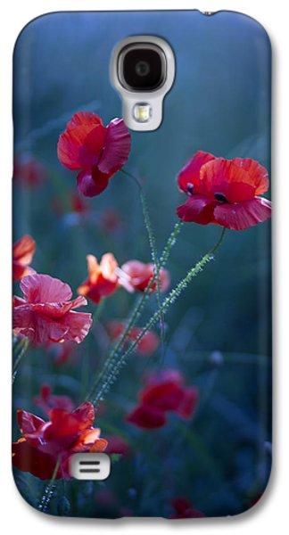 Blue Summer IIi Galaxy S4 Case by Magda  Bognar