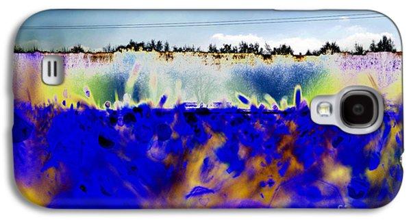 Blue Things Galaxy S4 Case by Carol Lynch