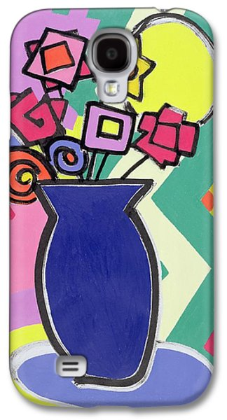 Blue Vase Galaxy S4 Case by Bodel Rikys