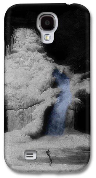 Blue Waterfall Frozen Landscape Galaxy S4 Case