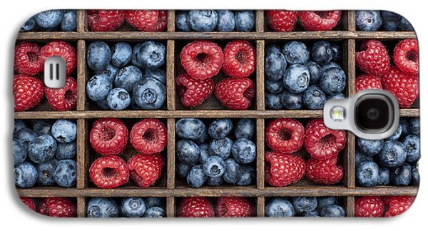 Blueberries And Raspberries  Galaxy S4 Case
