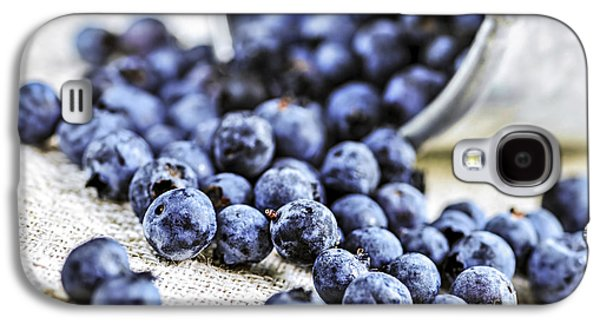 Blueberries Galaxy S4 Case by Elena Elisseeva