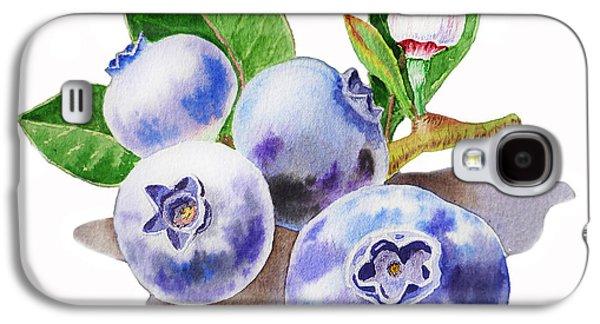 Artz Vitamins The Blueberries Galaxy S4 Case