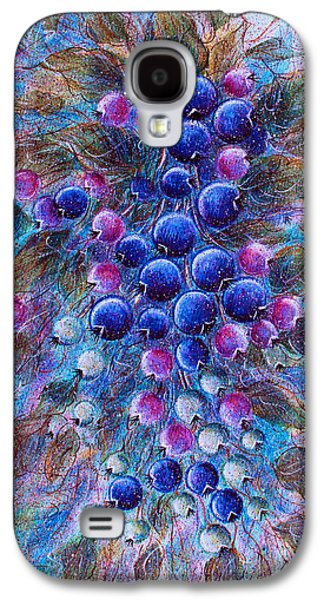 Blueberries Galaxy S4 Case by Natalie Holland