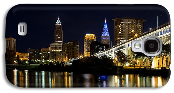 Blues In Cleveland Ohio Galaxy S4 Case