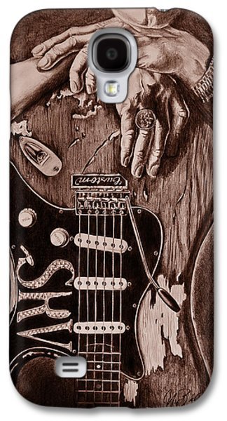 Blues Legend Galaxy S4 Case by Art Imago